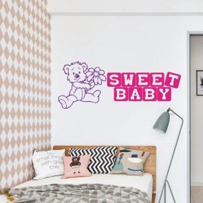 Αυτοκόλλητο Τοίχου Sweet Baby - Decotek 09536