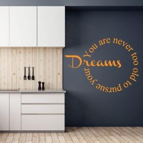 Αυτοκόλλητο Τοίχου Your Dreams - Decotek 09529