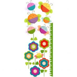 Παιδικό Αυτοκόλλητο Λουλουδάκια και Μελισσούλες - Decotek 18960