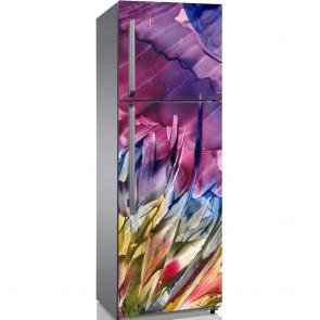 Αυτοκόλλητο Ψυγείου Abstract Flower - Decotek 19091