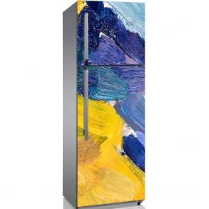 Αυτοκόλλητο Ψυγείου Abstract Summer - Decotek 19092