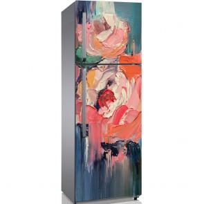 Αυτοκόλλητο Ψυγείου Beautiful Peonies - Decotek 19095