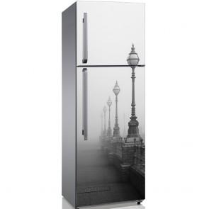 Αυτοκόλλητο Ψυγείου Lamps in Fog - Decotek 19207