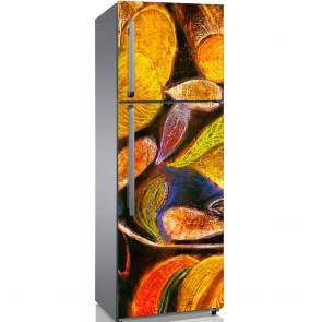Αυτοκόλλητο Ψυγείου Abstract Art - Decotek 19126