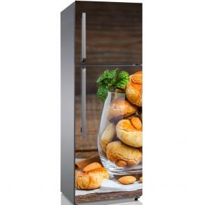 Αυτοκόλλητο Ψυγείου Almond Cookies - Decotek 19130