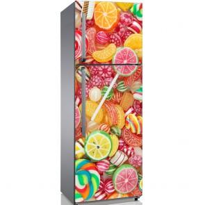 Αυτοκόλλητο Ψυγείου Candies - Decotek 19132