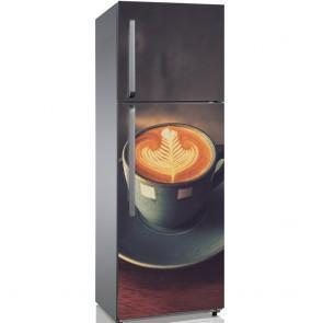 Αυτοκόλλητο Ψυγείου Coffee and Me - Decotek 19134