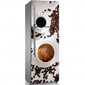 Αυτοκόλλητο Ψυγείου Coffee Beans - Decotek 19135