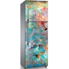 Αυτοκόλλητο Ψυγείου Grunge Beautiful Colours - Decotek 19140
