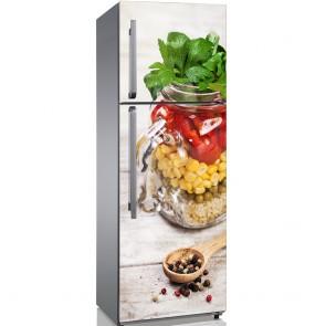 Αυτοκόλλητο Ψυγείου Healthy Jar - Decotek 19144