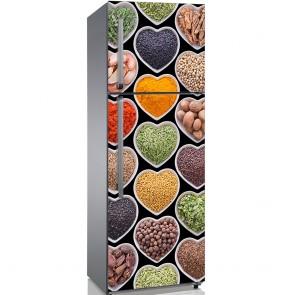 Αυτοκόλλητο Ψυγείου Love Spices - Decotek 19150