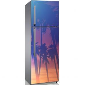 Αυτοκόλλητο Ψυγείου Palm Sunset - Decotek 19155