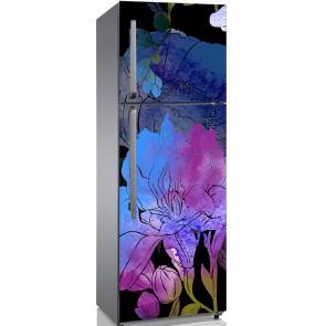 Αυτοκόλλητο Ψυγείου Pink and Purple Anemones - Decotek 19158