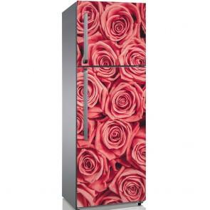 Αυτοκόλλητο Ψυγείου Pink Roses Bouquet - Decotek 19159