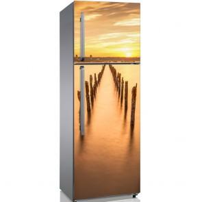 Αυτοκόλλητο Ψυγείου Poles In The Water - Decotek 19160