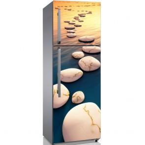 Αυτοκόλλητο Ψυγείου Step Stones Sunset - Decotek 19162