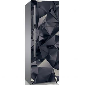Αυτοκόλλητο Ψυγείου 3D Triangle Art - Decotek 19166