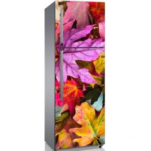 Αυτοκόλλητο Ψυγείου Autumn Bright Leaves - Decotek 19172