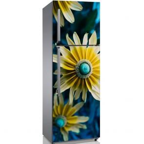 Αυτοκόλλητο Ψυγείου Beautiful Flower Close Up - Decotek 19173