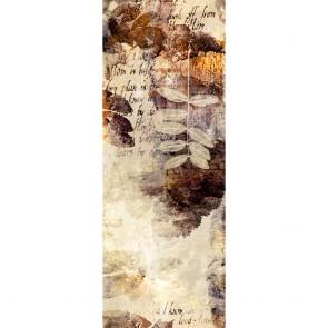 Αυτοκόλλητο Ψυγείου Beige and Brown Watercolors - Decotek 19174