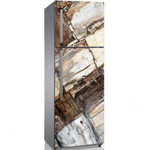 Αυτοκόλλητο Ψυγείου Brown Stones - Decotek 19178