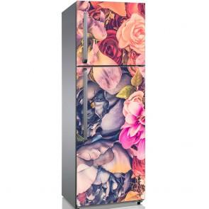 Αυτοκόλλητο Ψυγείου Flowers in Pastel Colours - Decotek 19192