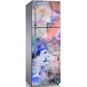 Αυτοκόλλητο Ψυγείου Grungy Artwork - Decotek 19201