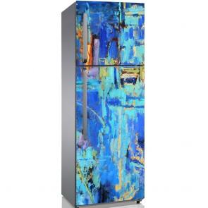 Αυτοκόλλητο Ψυγείου In Blues - Decotek 19203