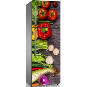 Αυτοκόλλητο Ψυγείου Veggies - Decotek 19216