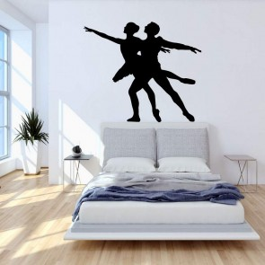 Αυτοκόλλητο Τοίχου Dancers - Decotek 09436