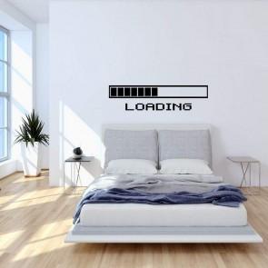 Αυτοκόλλητο Τοίχου Loading Decotek