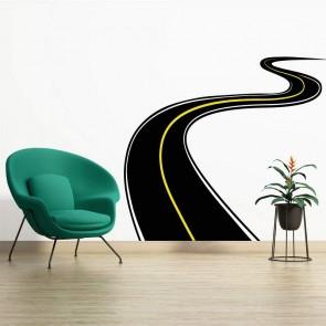 Αυτοκόλλητο Τοίχου Road Decotek