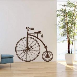 Αυτοκόλλητο Τοίχου Vintage Bike Decotek