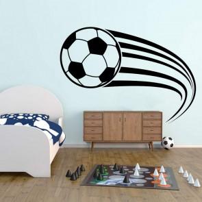 Αυτοκόλλητο Τοίχου Soccer Ball - Decotek 09450