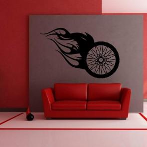 Αυτοκόλλητο Τοίχου Machine Wheel - Decotek 09454