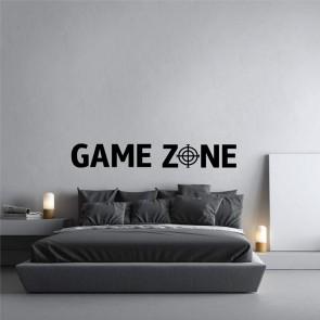 Αυτοκόλλητο Τοίχου Game Zone Decotek
