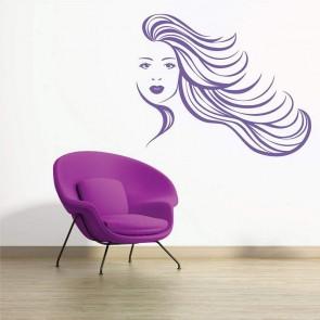 Αυτοκόλλητο Τοίχου Woman Decotek