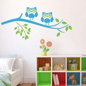 Αυτοκόλλητο Τοίχου Owls - Decotek 09669