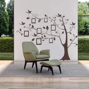 Αυτοκόλλητο Τοίχου Οικογενειακό Δέντρο 3 Decotek