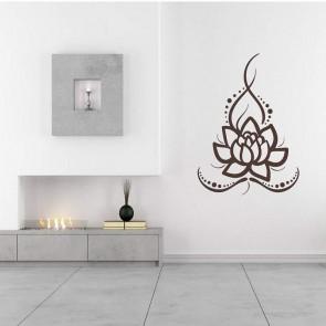 Αυτοκόλλητο Τοίχου Lotus - Decotek 09673