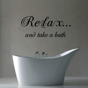 Αυτοκόλλητο Τοίχου Relax - Decotek 09674