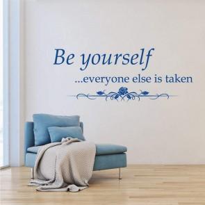 Αυτοκόλλητο Τοίχου Be Yourself Decotek