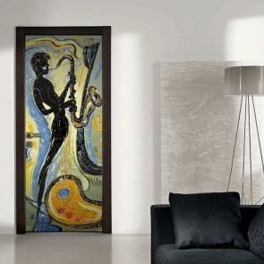 Αυτοκόλλητο Πόρτας All that Jazz  - Decotek 18674