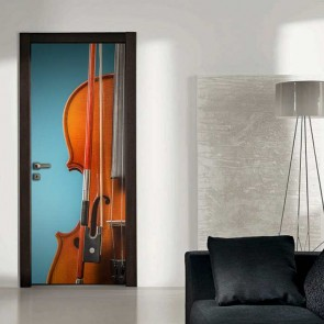 Αυτοκόλλητο Πόρτας The Violin - Decotek 18688