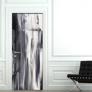 Αυτοκόλλητο Πόρτας Rough Abstract - Decotek 19032