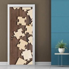 Αυτοκόλλητο Πόρτας Puzzle - Decotek 19039