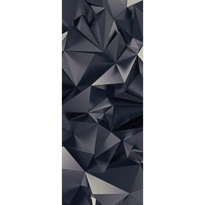 Αυτοκόλλητο Πόρτας 3D Triangle Art - Decotek 20101