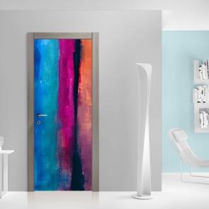 Αυτοκόλλητο Πόρτας Abstract Art - Decotek 20104