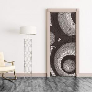 Αυτοκόλλητο Πόρτας Artistic Abstract - Decotek 20107