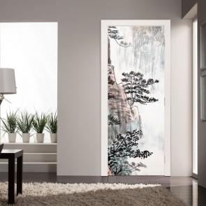 Αυτοκόλλητο Πόρτας Chinese Art - Decotek 20114